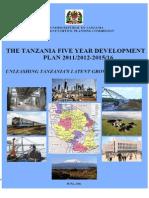 Tanzania 5 Year Development Plan