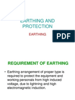 EARTHING AND PROTECTION.ppt