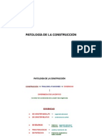 Patologia de La Construccion