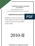 informe previo laboratorio 11