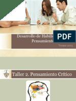 Desarrollo de Habilidades Del Pensamiento-Taller2