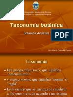 Sesion 04. Taxonomía botánica