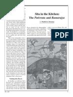 Sita in the Kitchen