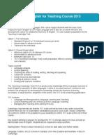 LSI English for Teaching