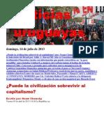 Noticias Uruguayas Domingo 14 de Julio Del 2013