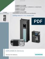 Catalogo General Sinamics G 120