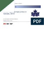 Hate Crimes 2010