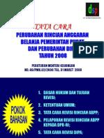 Sosialisasi Revisi 2008