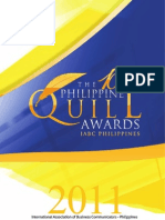 2011 Philippine Quill Awards Mechanics