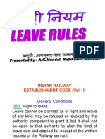 leave rules.ppt