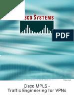 Cisco Mpls -Te for Vpns