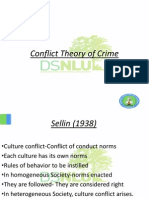 Conflict Theory of Crime