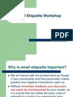 Email Etiquettes