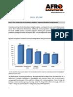 Zambia Afrobarometer Survey 2013