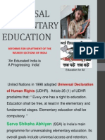 Dream Universal Elementary Education
