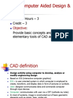 1 Introduction of cad
