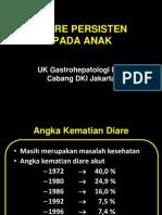 WS Diare Persisten pada anak 2013