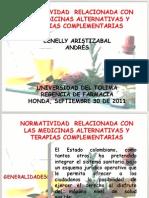 Normatividad Medicina Alternativa