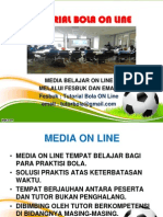 TUTORIAL BOLA ON LINE