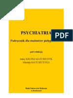 KSIążKA PSYCHIATRIA
