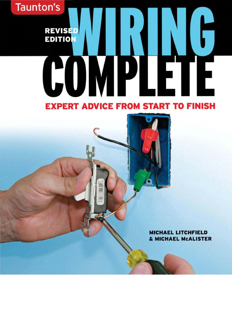 Wiring A House Book Great Installation Of Diagram Home Complete Gnv64 Electric Current Components Rh Scribd Com Basic Residential Electrical Diagrams