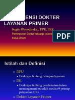 Kompetensi Dokter Layanan Primer