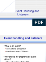 AJP Chapter 1 PPT - Event Handlers and Listeners