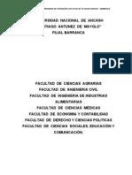 Reglamento Del Ptt - 2013 - Unasam - Filial - Barranca - Aqt