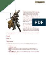 Lantern Bearer Elven Prestige Class