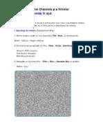 Utilizarea PaleteiChannels Si a Filtrelor - Reflexie Apa