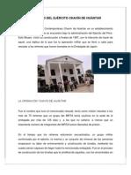 EL MUSEO DEL EJÉRCITO CHAVÍN DE HUÁNTAR