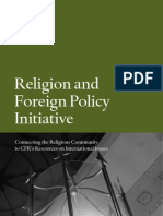 CFR Religion and Foreign Policy Initiative