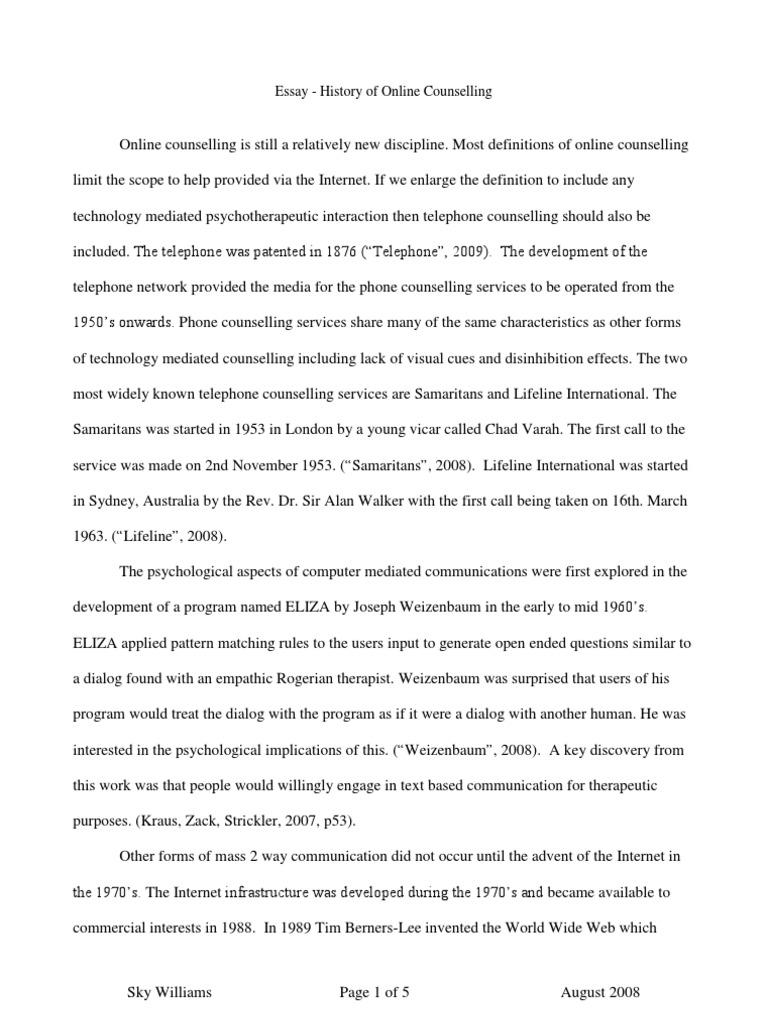 History Of The Internet Essay california essay