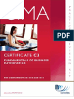 CIMA C03 Revision Kit