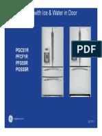 GE Bottom Freezer With Ice and Water in Door Repair Manual