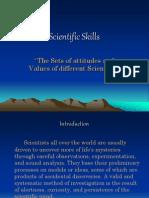 Scientific Skills