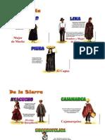Vestimenta de Las Tres Regiones