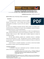 A INFLUÊNCIA DAS CONCEPÇÕES MATEMÁTICAS NA CONSTRUÇÃO DE UMA APRENDIZAGEM SIGNIFICATIVA