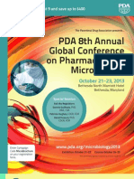 PDA 8th Microbiology Conference