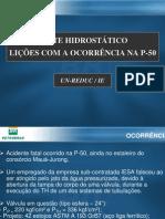 TESTE HIDROSTÁTICO 06-01-2006