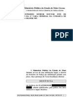 den+¦ncia - art. 33 lei  11.343-06 - CLAUDIONOR