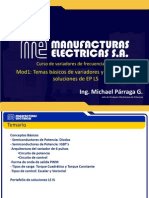 Curso de variadores de frecuencia LS IS - Mod1_Temas básicos de variadores y portafolio de soluciones de EP LS