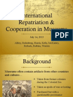 International Cooperation Presentation