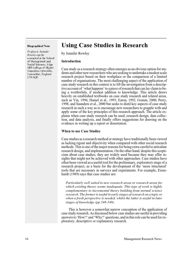 Research project case study nsf research proposal format