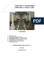 VICISITUDES MASÓNICAS