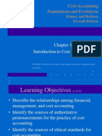 Chapter 1 - Introduction to Cost Accounting (1)