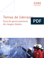 Leadership Matters - Managing Fatal Risk Guidance - Spanish
