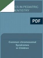 Genetics in Pediatric Dentistry