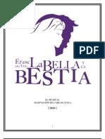 Libreto La Bella y La Bestia