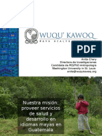 El Trabajo de Wuqu' Kawoq en Guatemaal